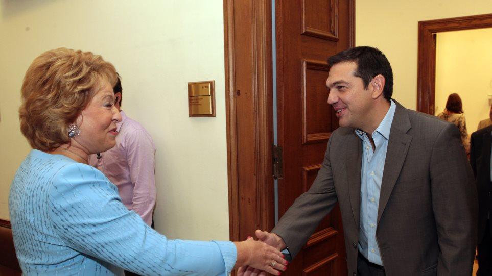 Ματβιένκο: Οι σχέσεις Ελλάδας - Ρωσίας είναι σχέσεις κυρίαρχων χωρών