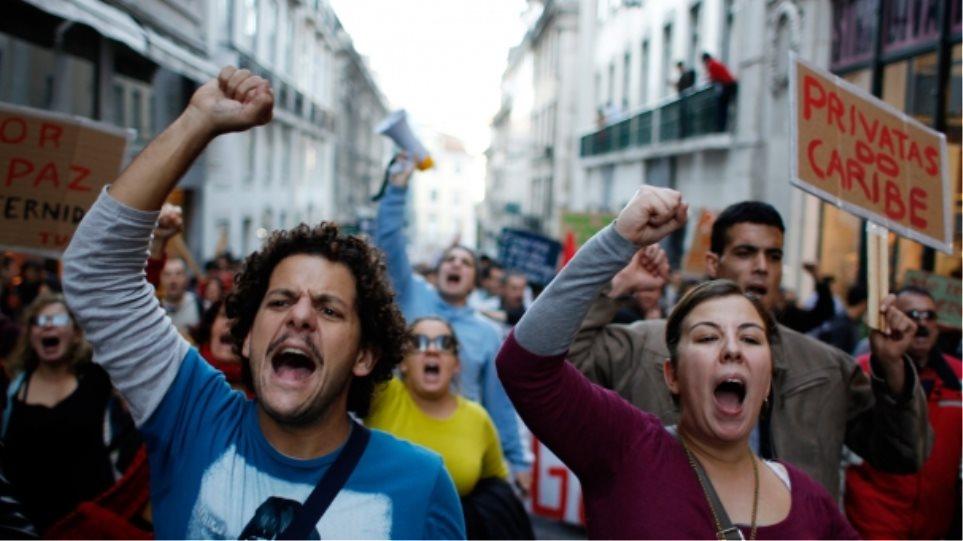 Κύμα απεργιακών κινητοποιήσεων στην Πορτογαλία