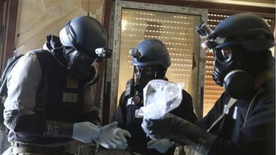 Στη Δαμασκό η συντονίστρια για την καταστροφή των χημικών όπλων