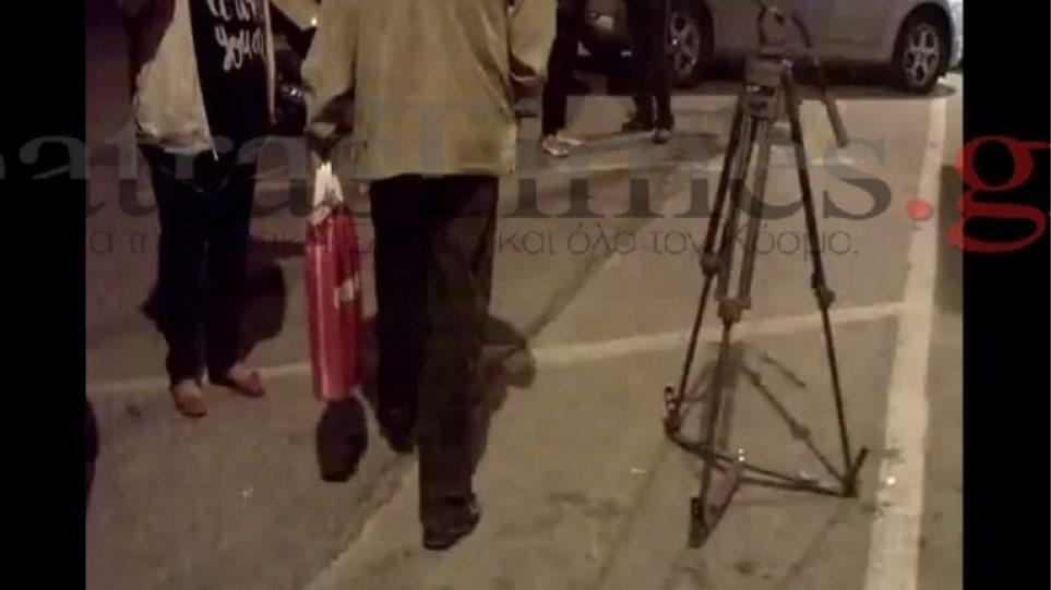 Πάτρα: Έκαναν βόλτες στο λιμάνι το κουτί  με τα λεφτά του καρναβαλιού