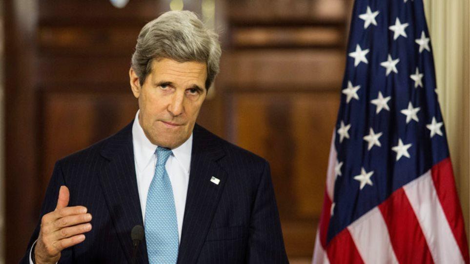 Κέρι: Θα εξετάσουμε από κοινού με το Παρίσι το ζήτημα των παρακολουθήσεων