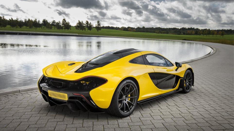 Η McLaren P1 εκτοξεύεται στα 100 km/h σε 2,8 δλ!