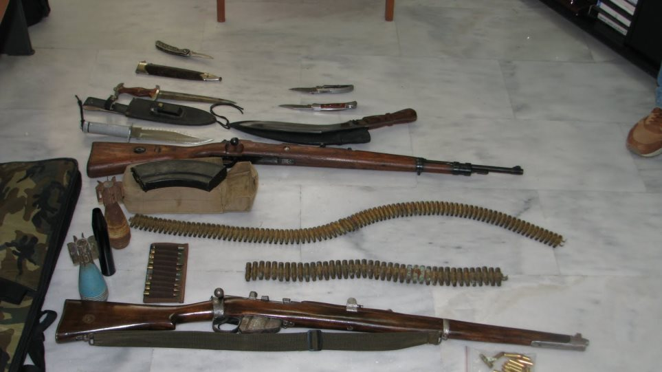 Μια σύλληψη στην Πάτρα οδήγησε την ΕΛ.ΑΣ. σε Αλβανούς λαθρέμπορους όπλων