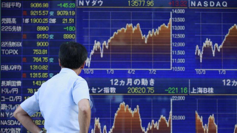 Nikkei: Με πτώση έκλεισε το Τόκιο