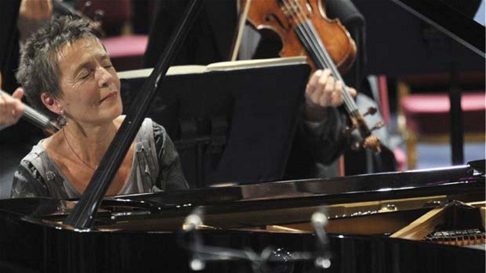 """Ο Κύκλος """"Μεγάλες Ορχήστρες – Μεγάλοι Μαέστροι"""" στο Μέγαρο ανοίγει με Maria Joao Pires"""