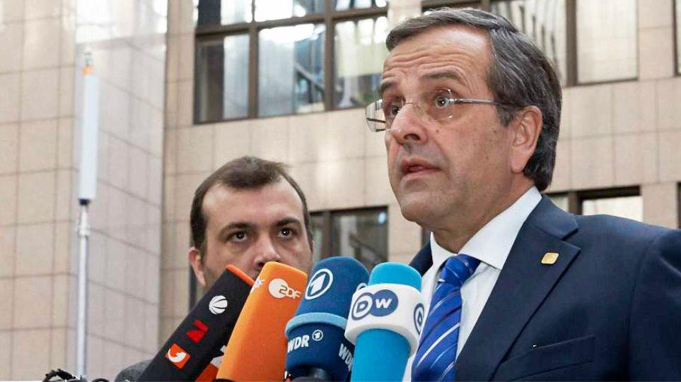 Τι είπαν Σαμαράς-Μέρκελ στις Βρυξέλλες