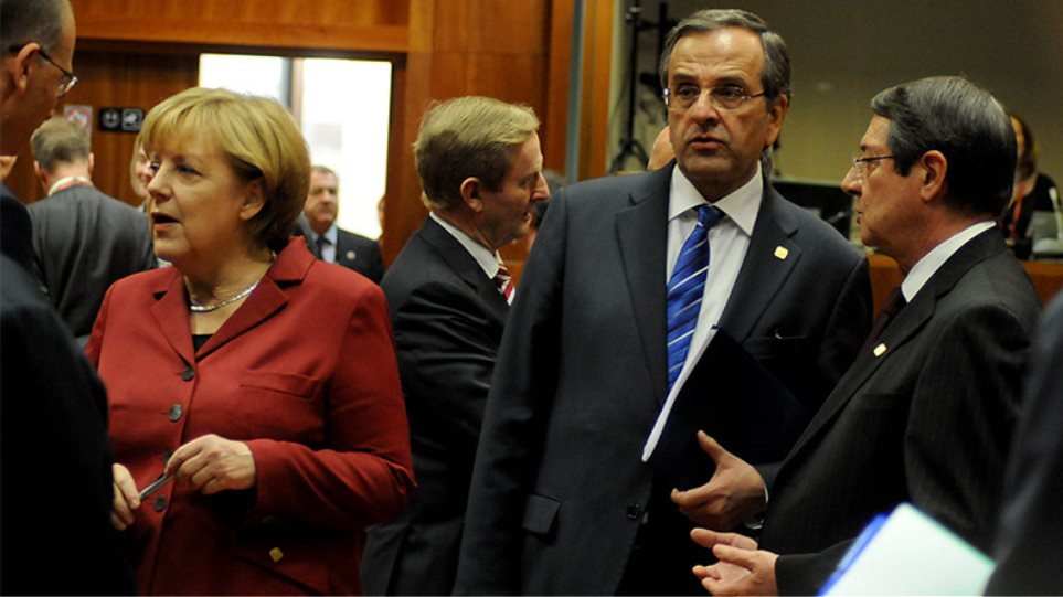 Μέρκελ: Δεν συζητήσαμε με Σαμαρά για ελάφρυνση χρέους