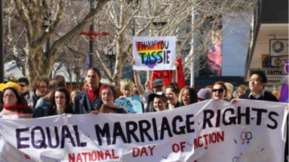 Θα ανακαλέσει ο Άμποτ την αναγνώριση στους γάμους ομοφυλοφίλων;