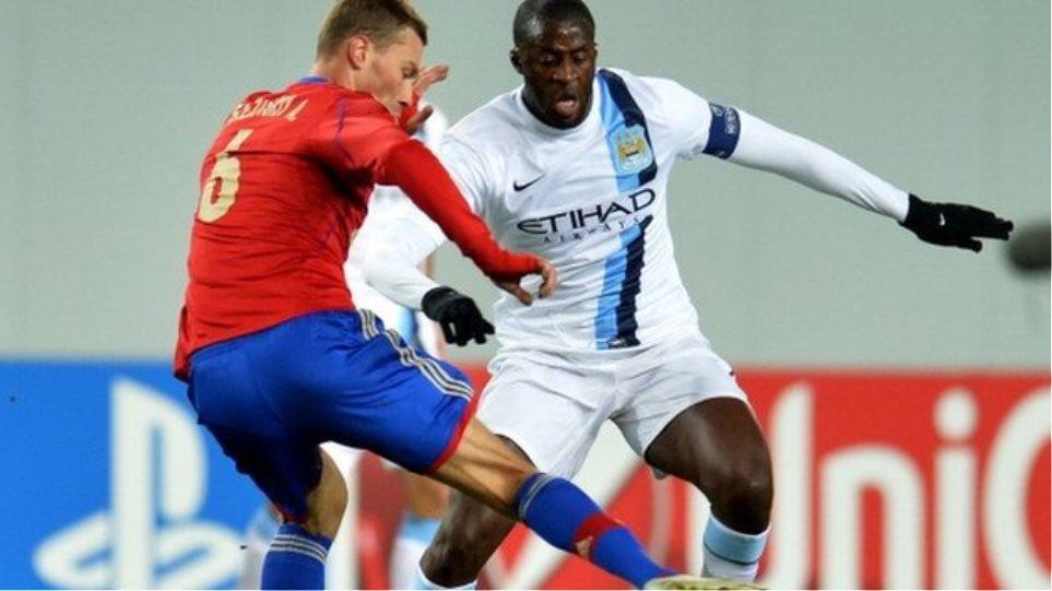 Με κλείσιμο μιας κερκίδας τιμώρησε η UEFA την ΤΣΣΚΑ Μόσχας για τη ρατσιστική επίθεση στον Γιάγια Τουρέ
