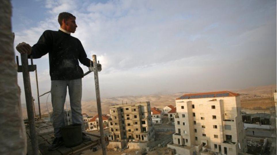 Παλαιστίνη: «Καταστροφική» η απόφαση του Ισραήλ για ανέγερση νέων οικισμών