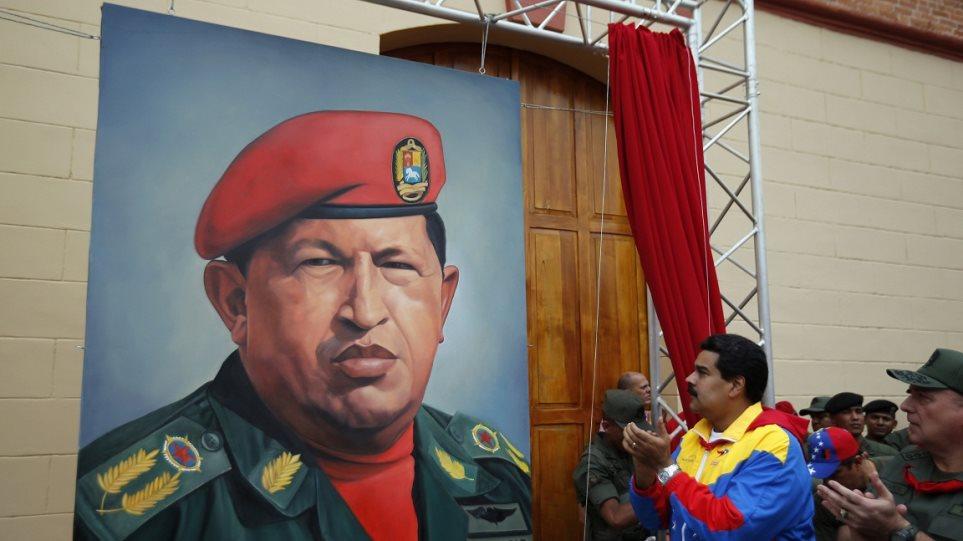 Ο Μαδούρο «είδε» τον Τσάβες στο μετρό του Καράκας (φωτογραφία και βίντεο)