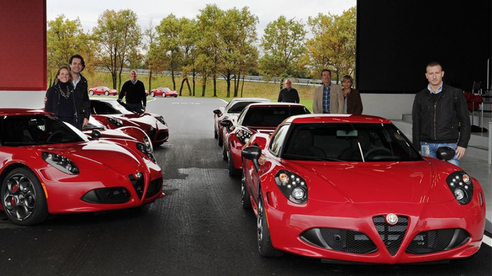 Video: Οι πρώτες Alfa 4C βρήκαν... σπίτι