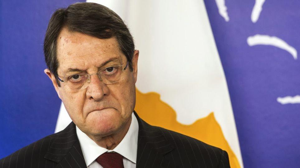 Κυπριακό: Αποφασισμένος για λύση ο Αναστασιάδης
