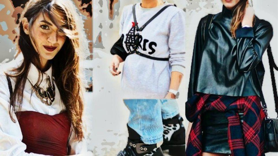 f697104d4156 Δέκα ιδέες styling που μπορείς να κλέψεις από street fashion εμφανίσεις