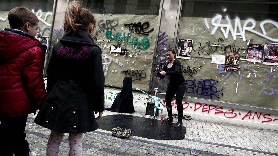 Φωτογραφίες: Τα Χριστούγεννα της θλίψης στην Αθήνα