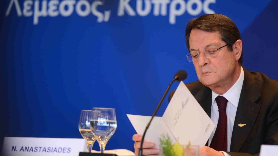 fc589e79cb72 Αναστασιάδης  Ίσως κάποιες χώρες της ΕΕ «βολεύονται» με τη μη λύση του  Κυπριακού