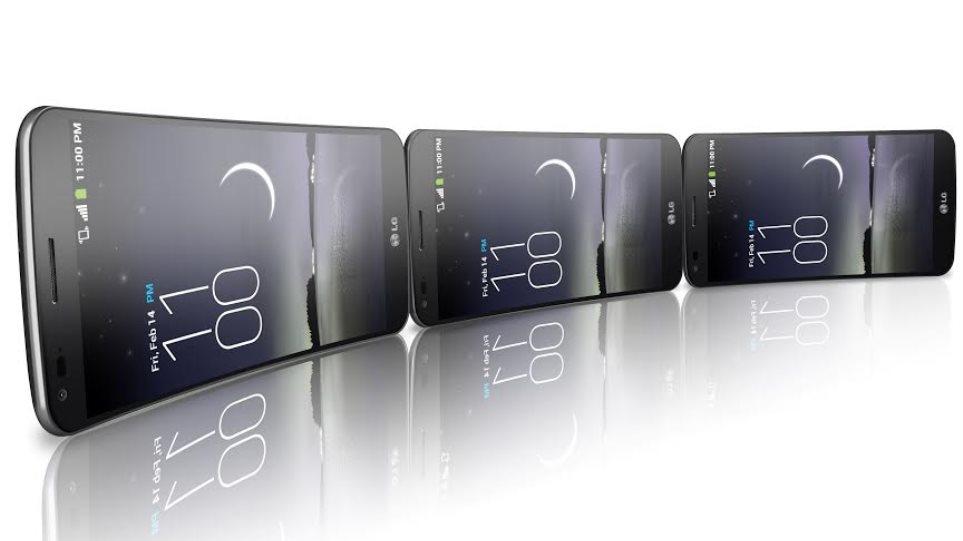 Ερχεται και στην Ελλάδα το κυρτό smartphone της LG