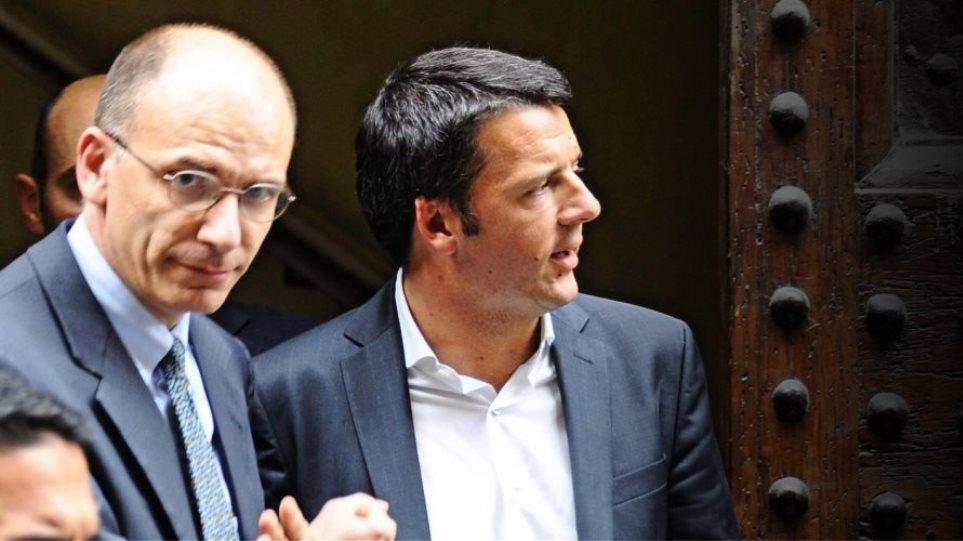 Ιταλία: Ανέτρεψε τον Λέτα ο Ρέντζι
