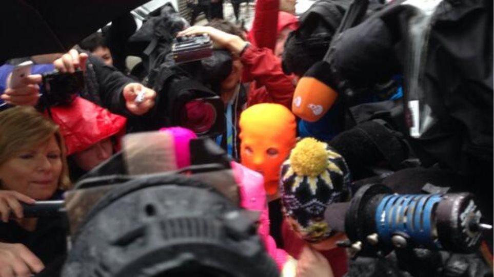 Ελεύθερες αφέθηκαν οι Pussy Riot