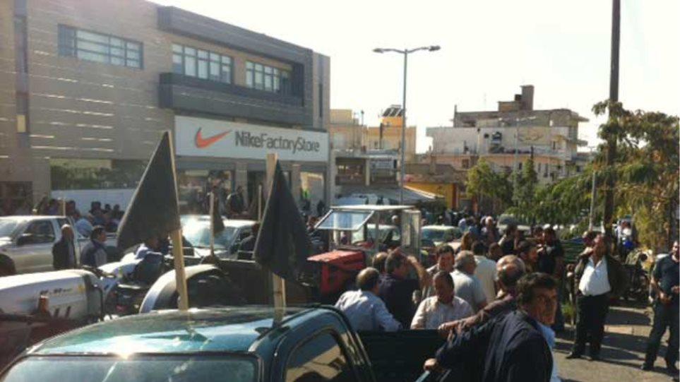 Ηράκλειο: Παγκρήτιο αγροτικό συλλαλητήριο