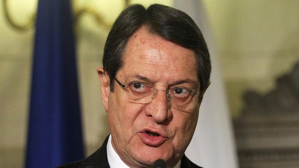 Ο Νίκος Αναστασιάδης καλεί όλα τα κόμματα σε ενότητα