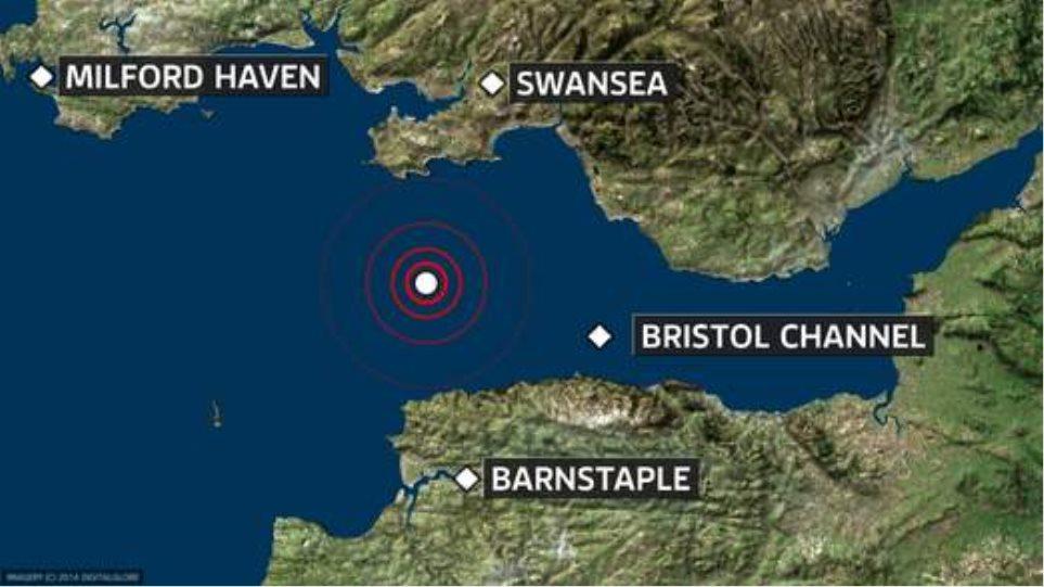 Σεισμός 4,1 Ρίχτερ αναστάτωσε τη νοτιοδυτική Βρετανία