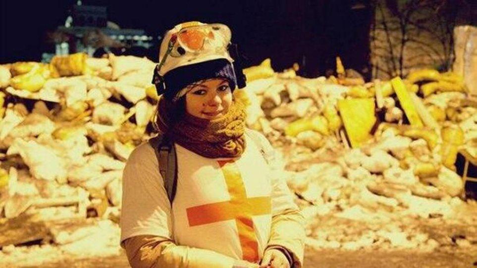 Κίεβο: Ζει η νοσοκόμα που συγκίνησε με το tweet της όταν πυροβολήθηκε