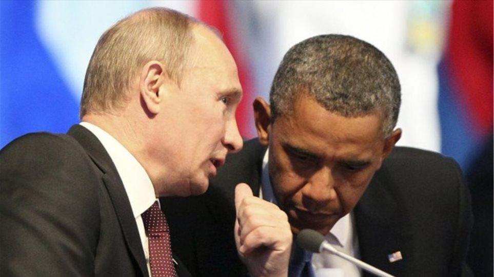 Τηλεφωνική επικοινωνία Ομπάμα-Πούτιν για την Ουκρανία