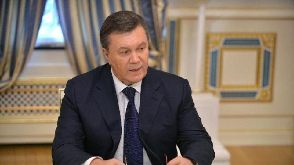 Ανεξάρτητη νοτιανατολική Ουκρανία υπό ρωσική προστασία σχεδιάζει ο Γιανουκόβιτς