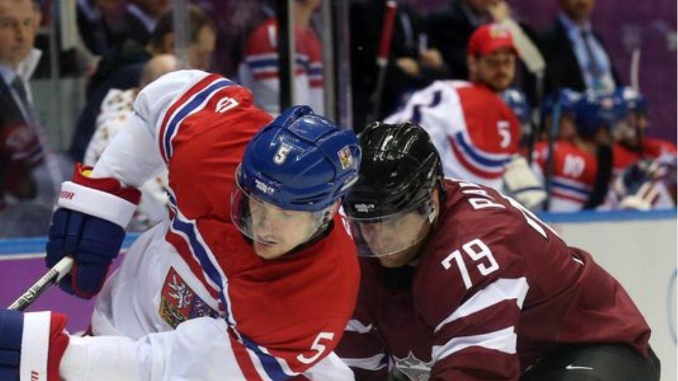 Σότσι: Βρέθηκε ντοπέ Λετονός αθλητής του χόκεϊ