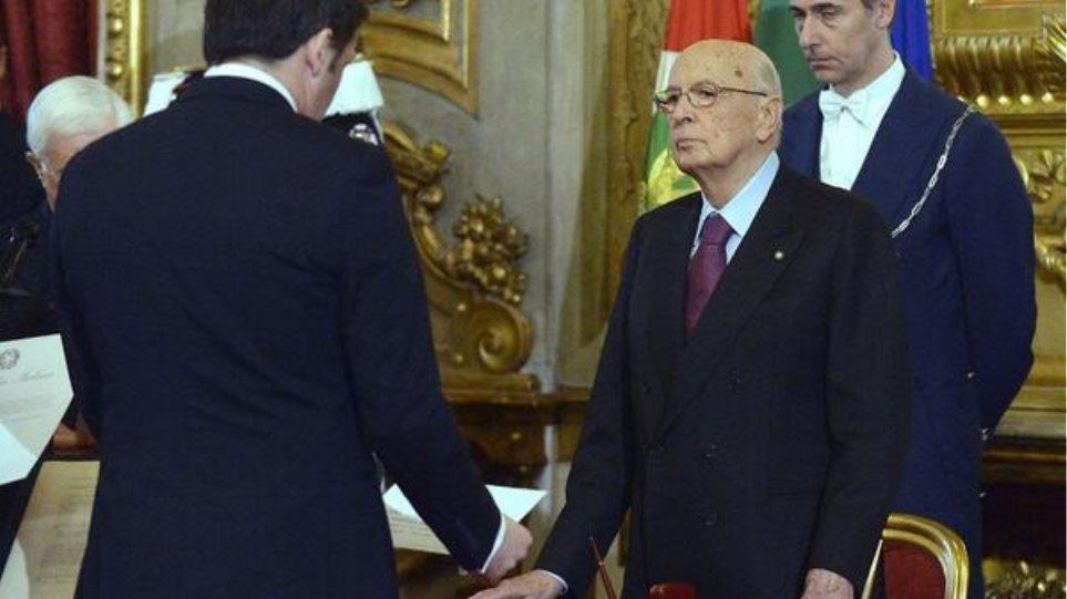 Ιταλία: Ορκίστηκε η κυβέρνηση του Ματέο Ρέντζι