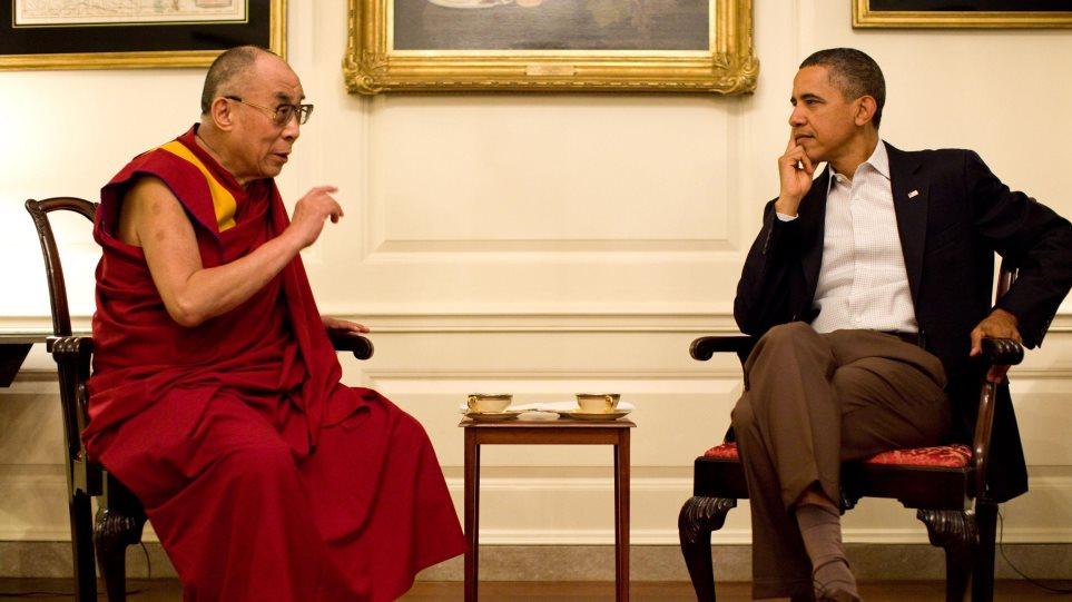 Κίνα: Δυσαρέσκεια για την συνάντηση του Ομπάμα με τον Δαλάι Λάμα
