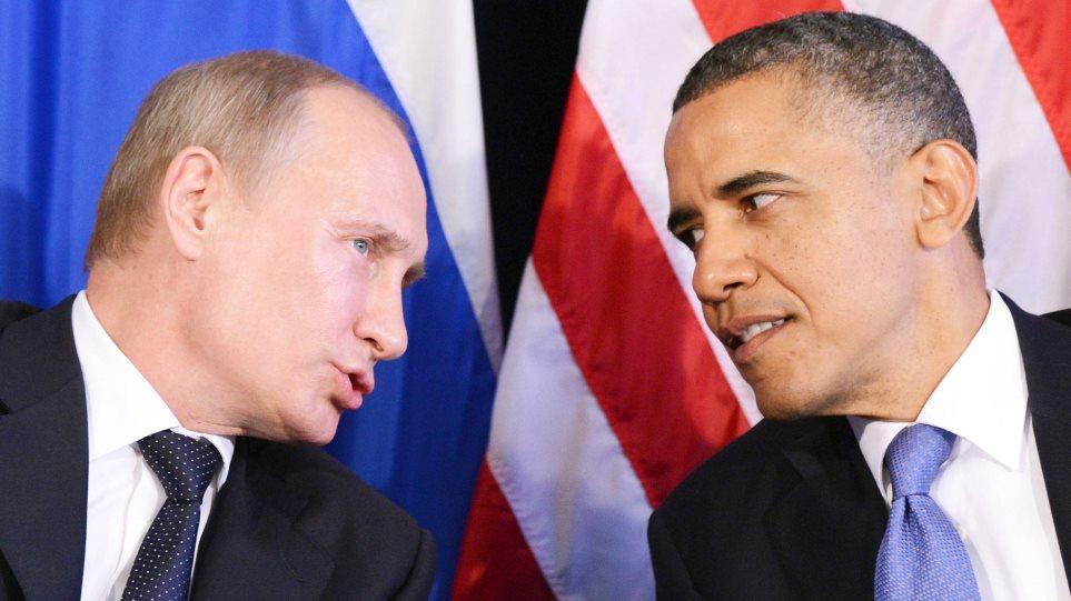 Τηλεφωνική επικοινωνία Ομπάμα-Πούτιν για τον εμφύλιο στη Συρία