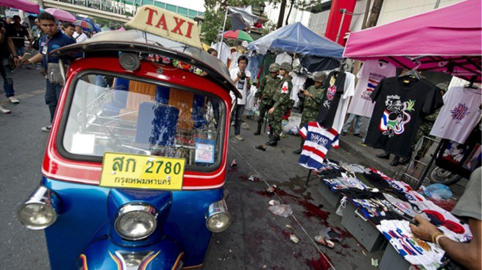 Φονική έκρηξη βόμβας σε πολυσύχναστη περιοχή στην Μπανγκόκ
