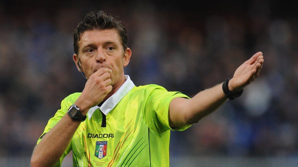 Ο Ιταλός Ρόκι σφυρίζει το Ολυμπιακός-Γιουνάιτεντ