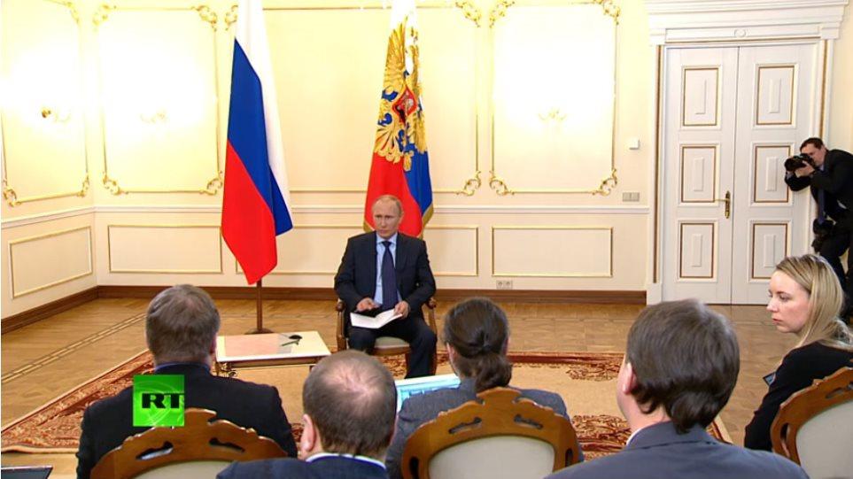 Πούτιν: Δεν θέλουμε να χρησιμοποιήσουμε στρατιωτική βία, αλλά μπορούμε να το κάνουμε