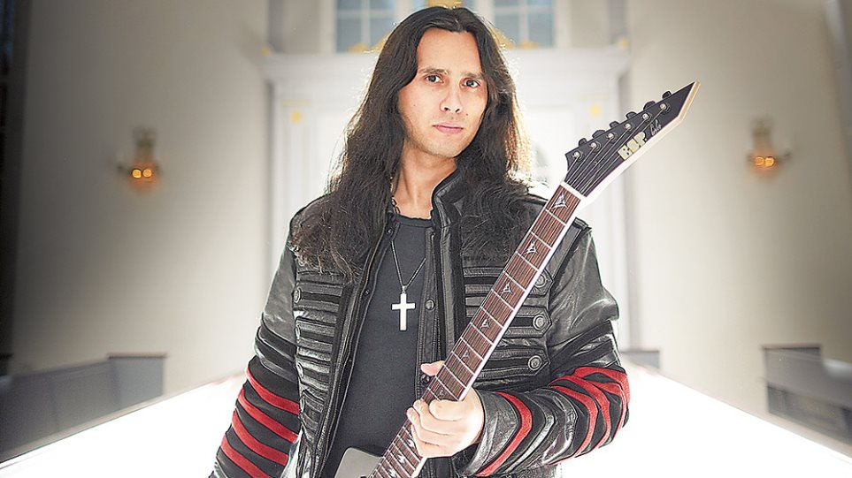 Gus G: Ο πιο διάσημος μέταλ κιθαρίστας είναι από την Καλαμαριά