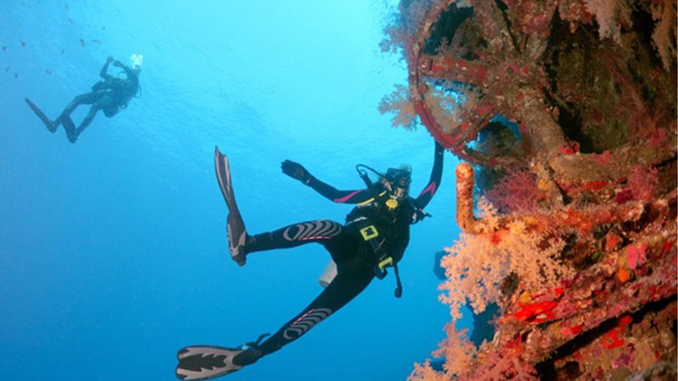 Ναυάγιο ελληνικού πλοίου γίνεται «παράδεισος» για τους δύτες στην Ερυθρά Θάλασσα