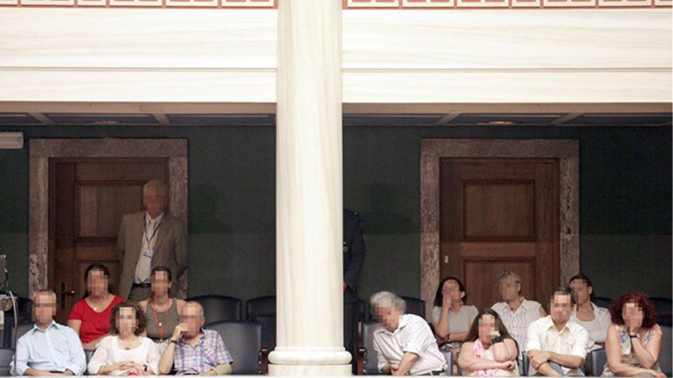 Οι γονείς των μελών των Πυρήνων της Φωτιάς στην Βουλή με πρόσκληση του ΣΥΡΙΖΑ