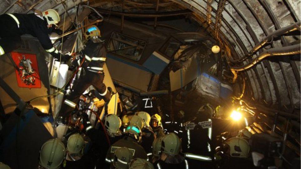 Ρωσία: Δύο συλλήψεις για την τραγωδία στο μετρό της Μόσχας