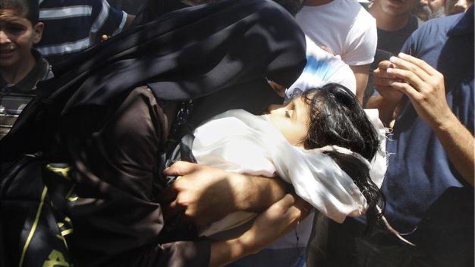 Γάζα: Στους 208 οι νεκροί - Τέσσερα παιδιά θύματα των ισραηλινών επιδρομών