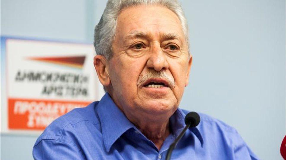Διπλός διάλογος Κουβέλη με ΣΥΡΙΖΑ και ΠΑΣΟΚ