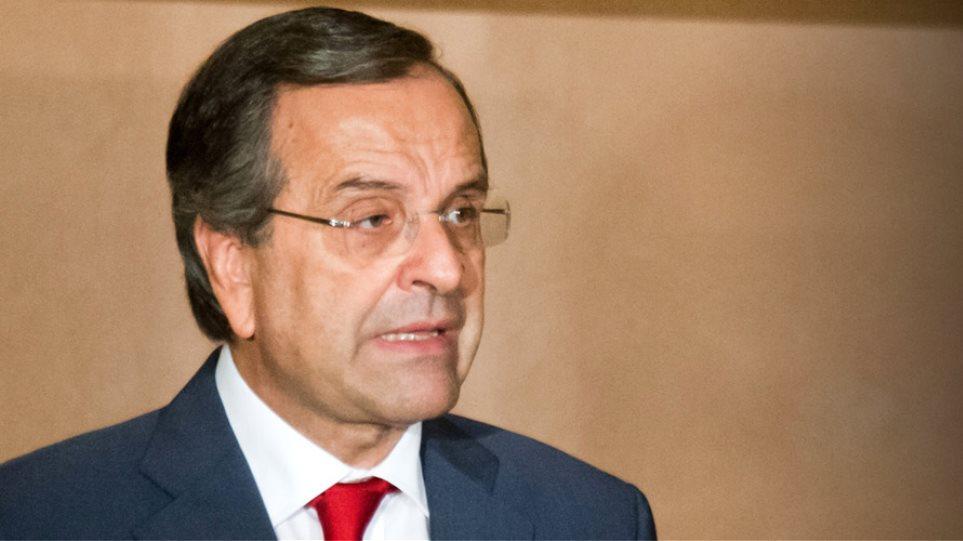«Φρένο» στην εκλογολογία βάζει ο Σαμαράς