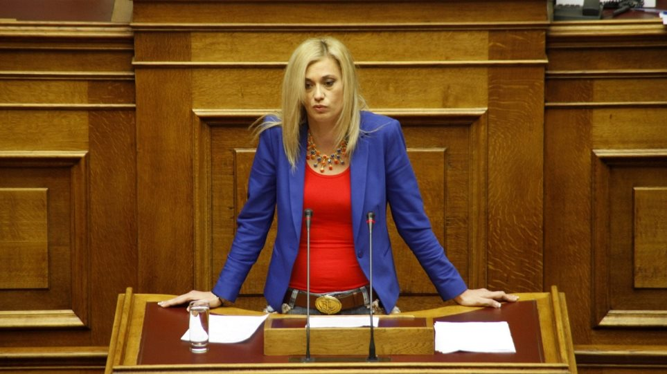Διεγράφη από τους Ανεξάρτητους Έλληνες η Ραχήλ Μακρή