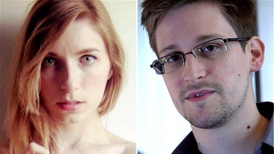 Ρωσία: Στην αγκαλιά του Σνόουντεν η στριπτιζέζ φίλη του