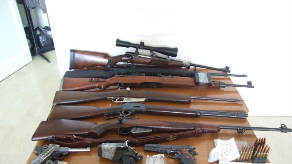 Πέλλα: Συνελήφθη 60χρονος για παράνομο οπλοστάσιο