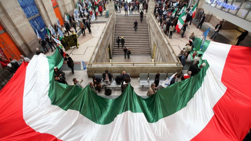 Ιταλία: Διαδηλώσεις κατά των μεταναστών και του... Έμπολα