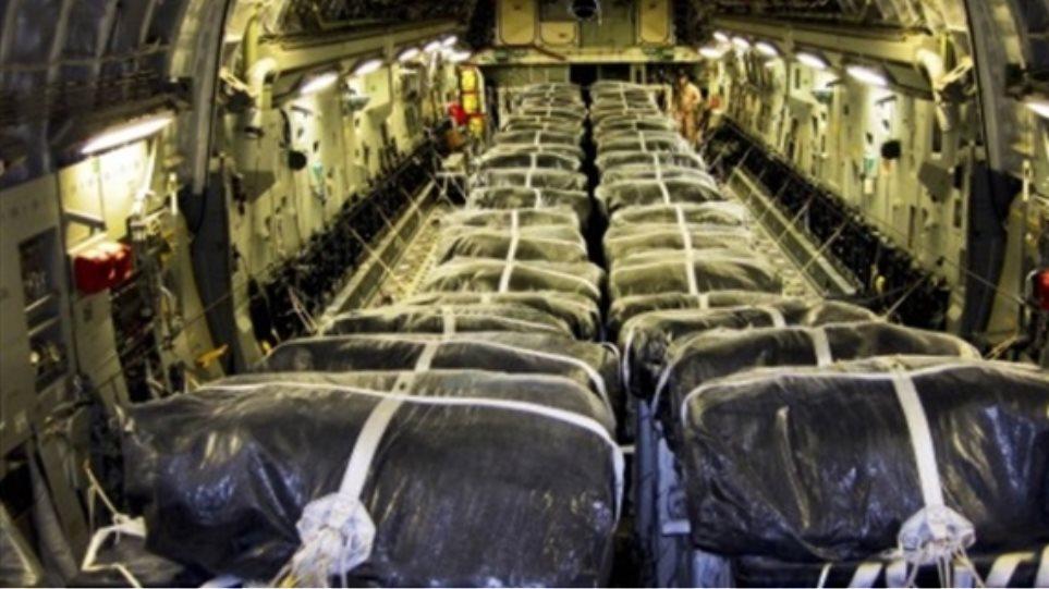 ΗΠΑ: Ρίψεις τροφίμων και πυρομαχικών στο Ιράκ