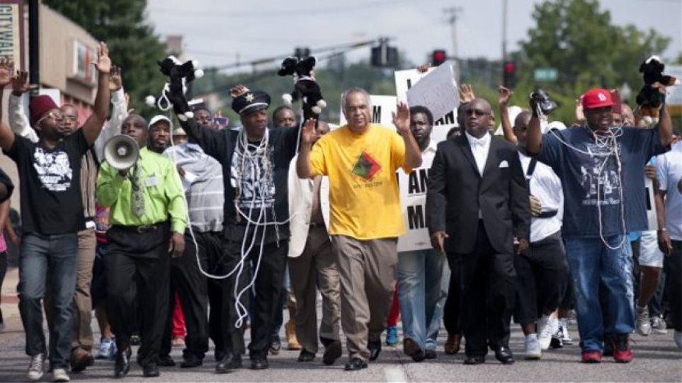 ΗΠΑ: Aντιρατσιστική διαδήλωση με δεκαεπτά συλλήψεις στο Σεντ Λούις