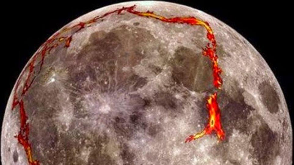 Το φεγγάρι δεν είναι γεωλογικά νεκρό!